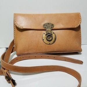 WILL Leather Goods Eva Crossbody Clutch Bag